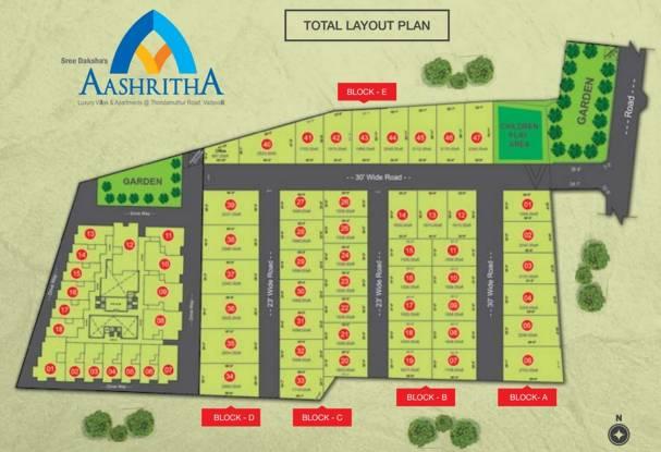 Images for Layout Plan of Sree Daksha Aashritha Villas