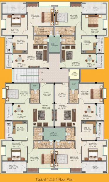 Images for Cluster Plan of Satyam Divine