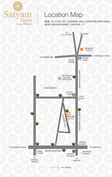 Images for Location Plan of Satyam Divine