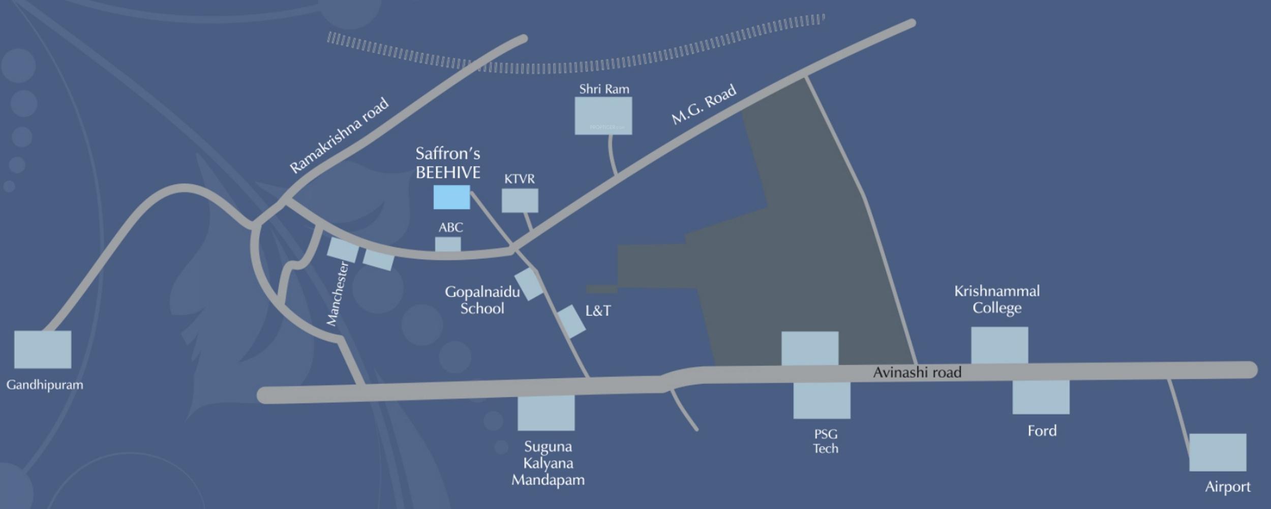 Saffron Beehive In Peelamedu Coimbatore Price Location Map Phone Wiring Diagram Floor Plan Reviews