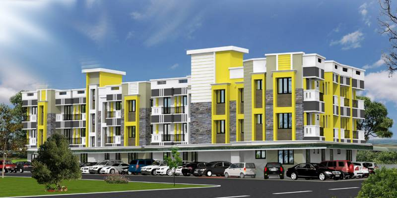 Images for Elevation of Alba I Square Apartment