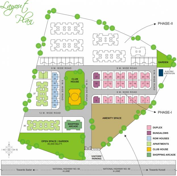 Images for Layout Plan of Leverage Greens Villa