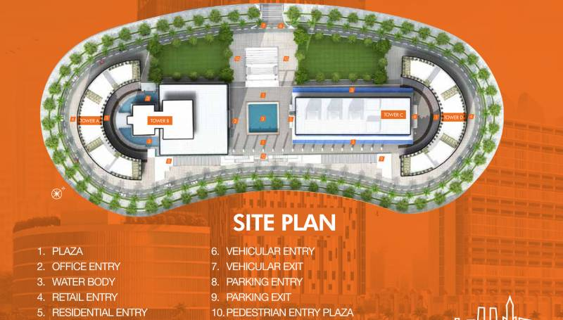Site plan image of viridian red wtc studio apartment gift for Apartment site plan
