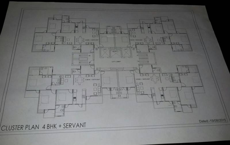 Images for Cluster Plan of Anindya Studios