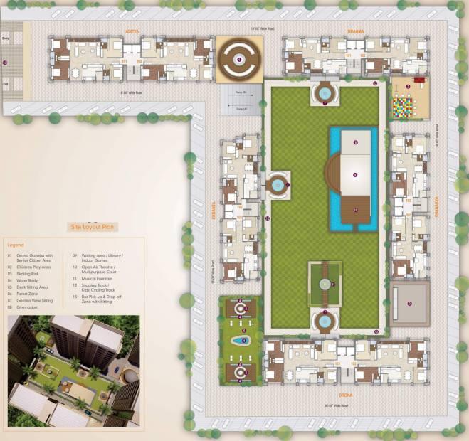 Images for Layout Plan of Rameshwaram Dev Bhoomi