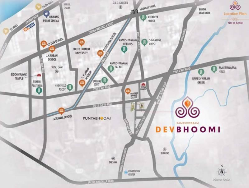 Images for Location Plan of Rameshwaram Dev Bhoomi