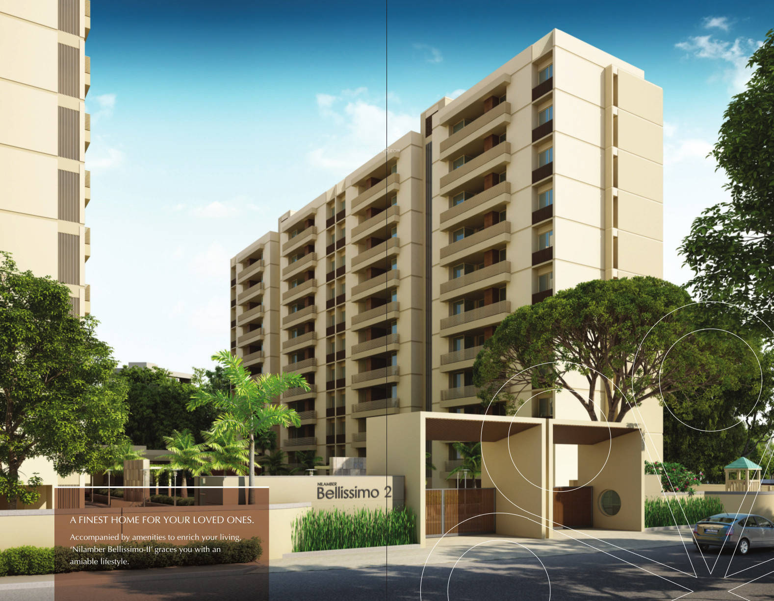 2500 sq ft 3 BHK 3T Apartment for Sale in Nilamber Group