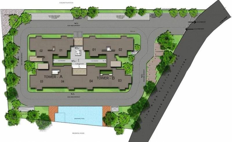 Images for Layout Plan of The Address The Central Regency Address