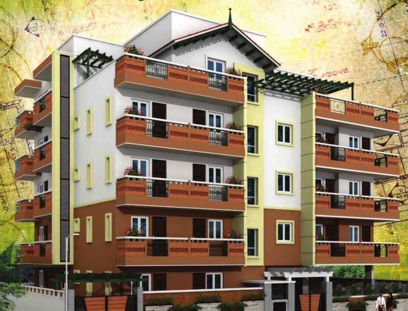Images for Elevation of Dimensions Kalpavruksha Apartment