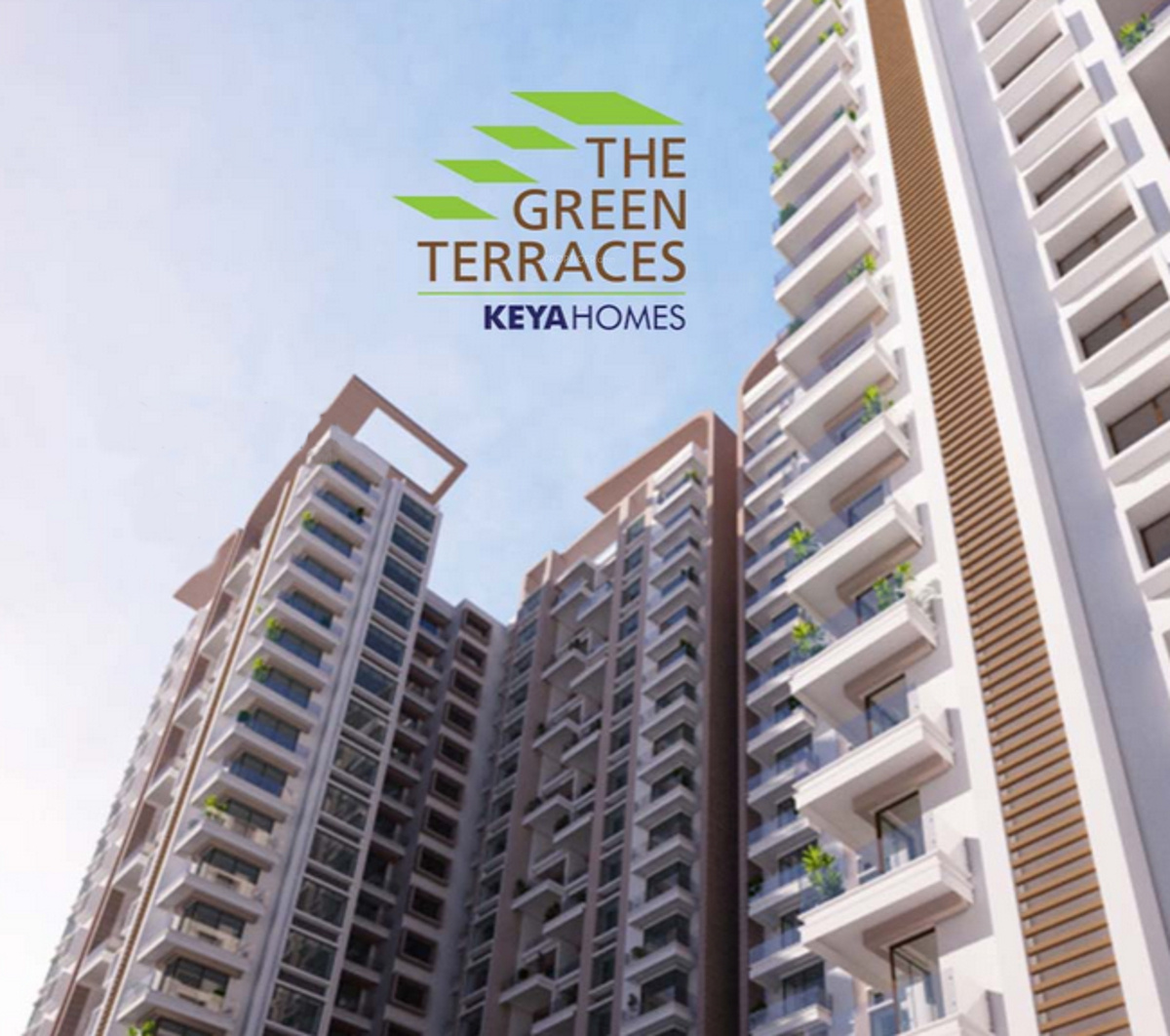 The Terraces Apartments: 715 Sq Ft 1 BHK 1T Apartment For Sale In Keya Homes The