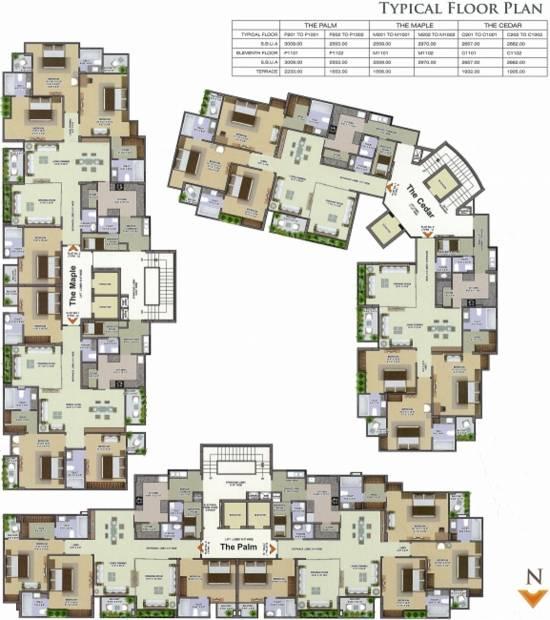 Images for Cluster Plan of Pink Radiant Casa