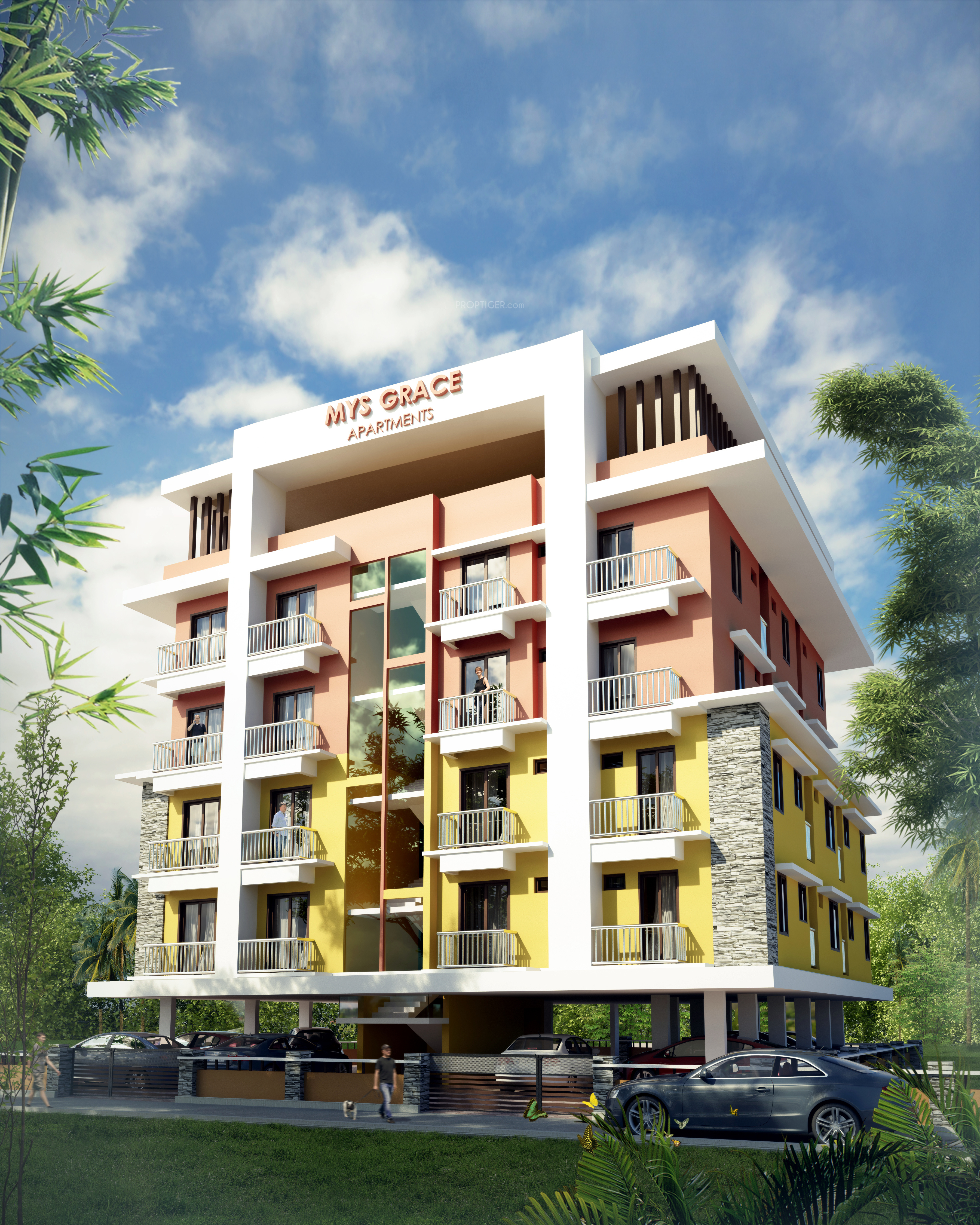Apartments By Location: MYS Grace Apartments In Edappally, Kochi