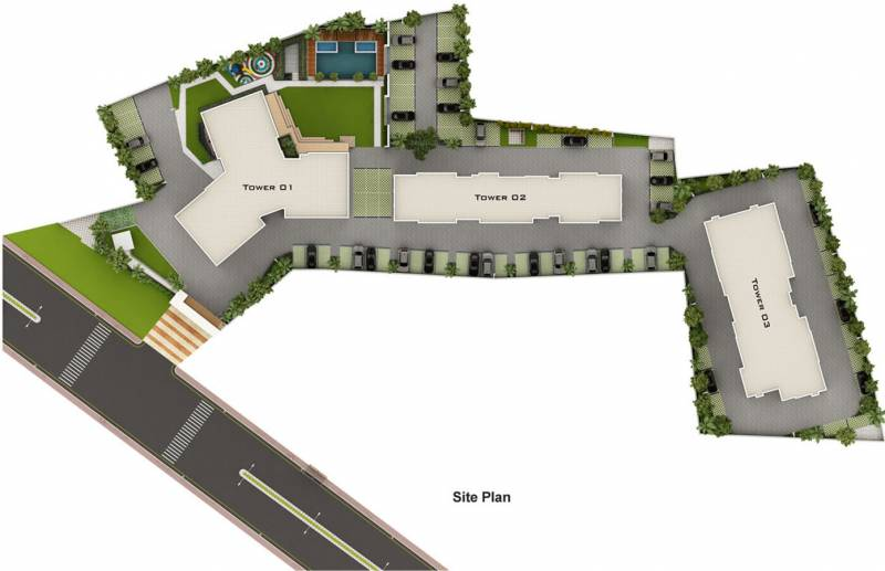 Images for Site Plan of Amaya Amaya Residences