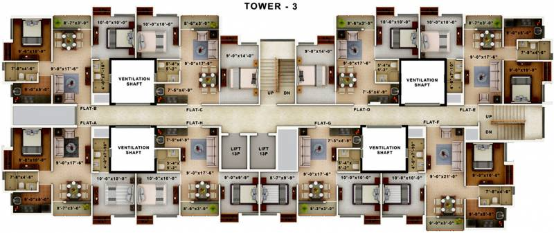 Images for Cluster Plan of Amaya Amaya Residences