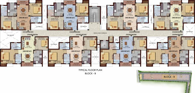 1750 sqft 3 bhk Apartment Man Developments Royal Amar Greens Other