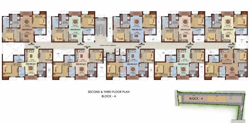 Images for Cluster Plan of Isha Aabhirupam