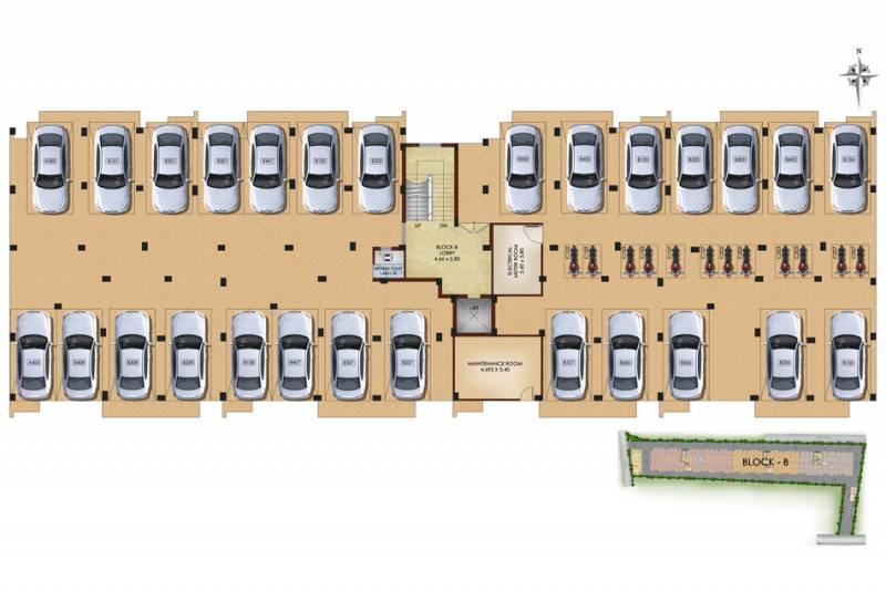 Images for Cluster Plan of Isha Aabhirupam