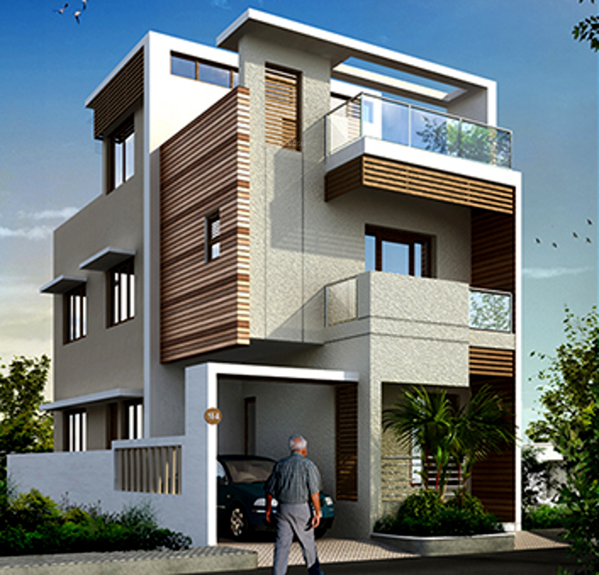 1875 sq ft 3 bhk 3t villa for sale in fairyland sai House architecture chennai