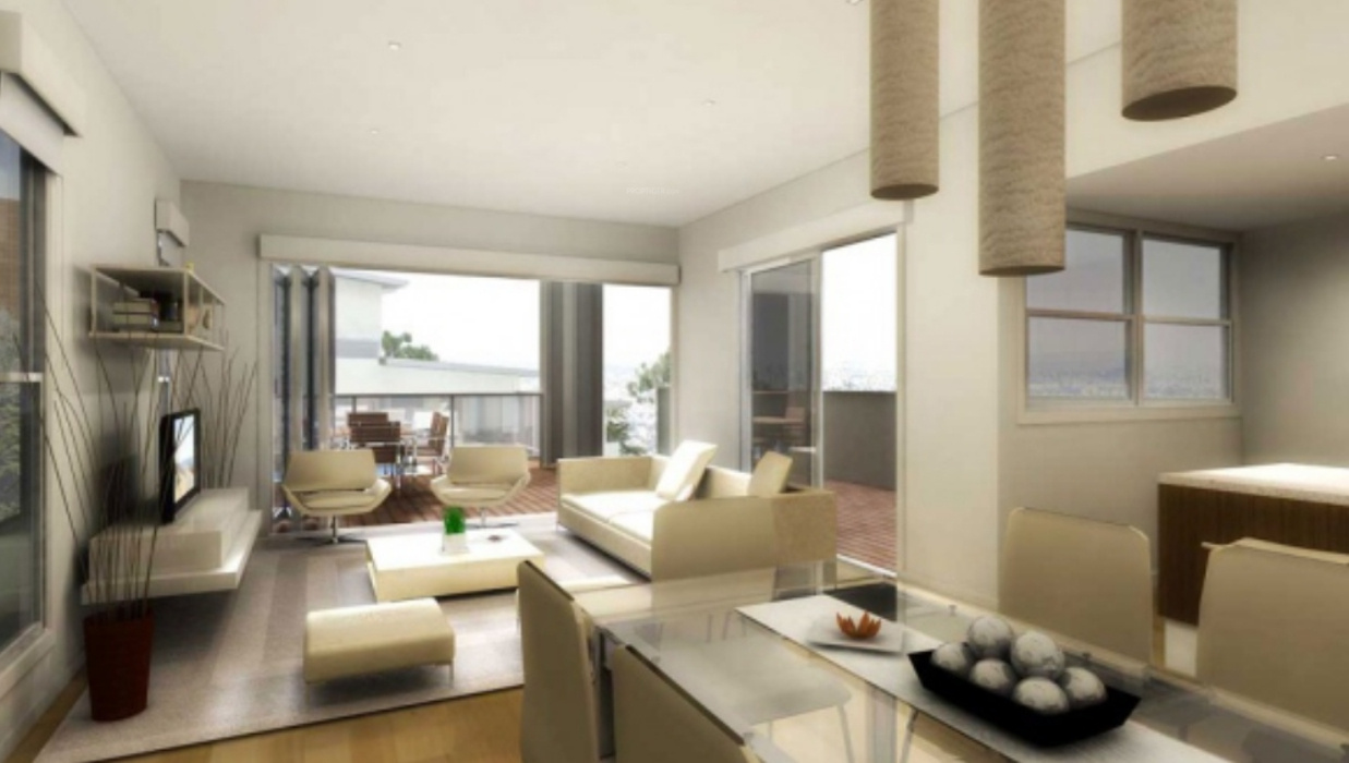 Interior Design For Apartments Living Room 1535 Sq Ft 3 Bhk 3t Apartment For Sale In Kmc Constructions