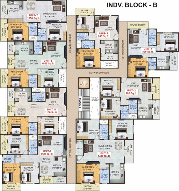 Images for Cluster Plan of SV Luxuria
