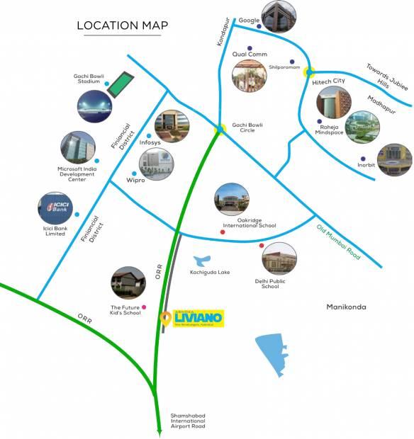 Images for Location Plan of Ashoka Liviano