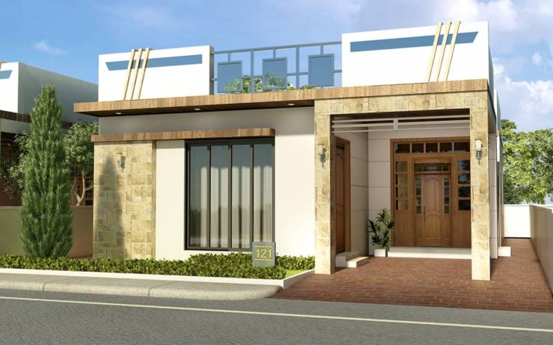 First Floor Elevation In Hyderabad : Main elevation image of dream india avenue villa unit