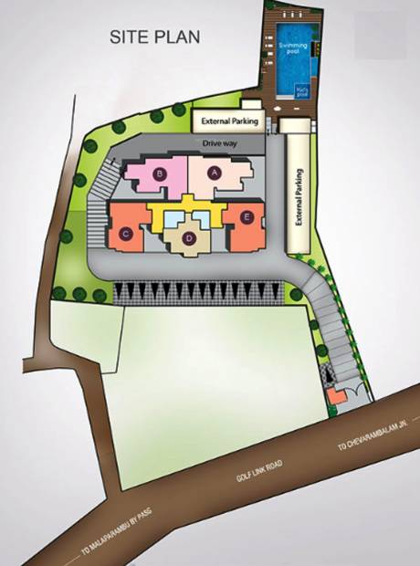 Images for Site Plan of Skyline Crescendo