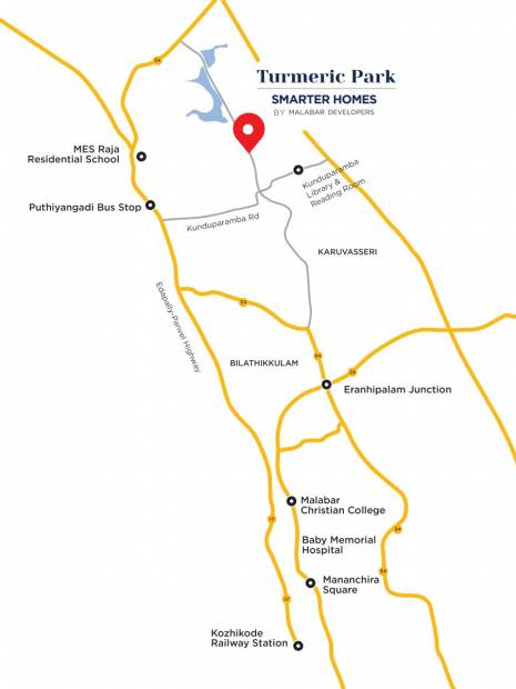 Images for Location Plan of Malabar Turmeric Park