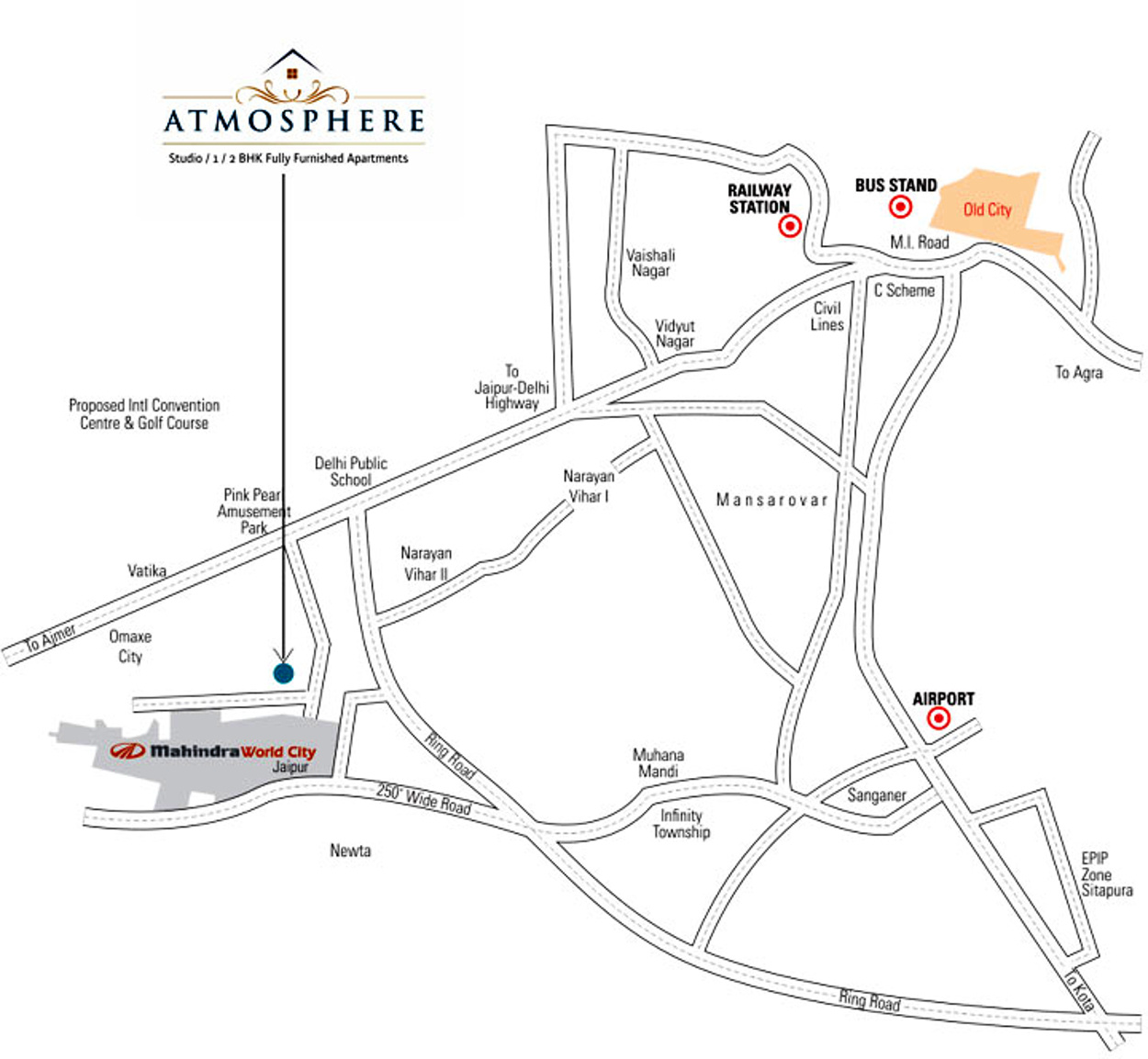 Samanvay Atmosphere In Mahindra Sez Jaipur Price Location Map 450 Wiring Diagram Floor Plan Reviews
