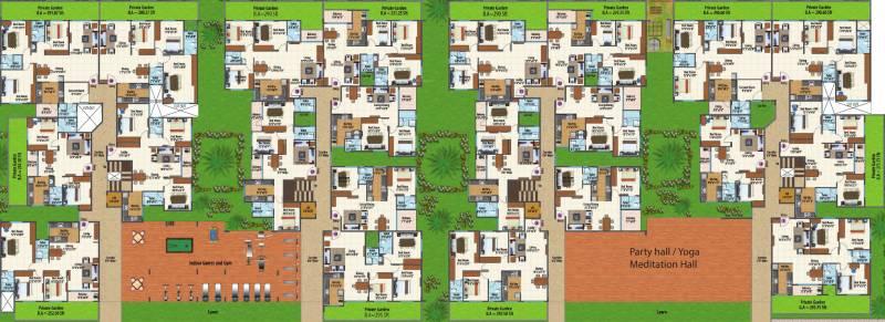 Images for Cluster Plan of RK Suraksha Suraksha Landmark