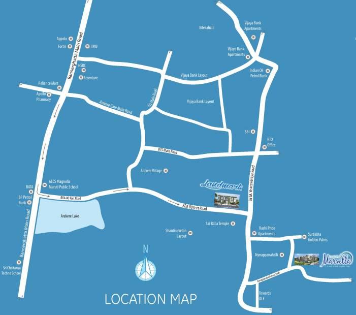 Images for Location Plan of RK Suraksha Suraksha Landmark