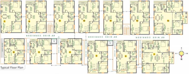 Images for Cluster Plan of Pallavi Developers Aashray