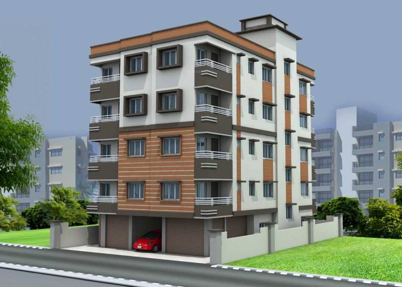 jinia-developers santi-bhavan Elevation