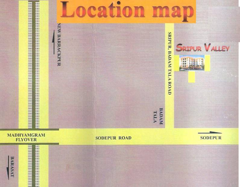 Images for Location Plan of Real Sripur Valley