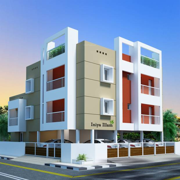 Images for Elevation of Iniya Illam Constructions Tan Avenue