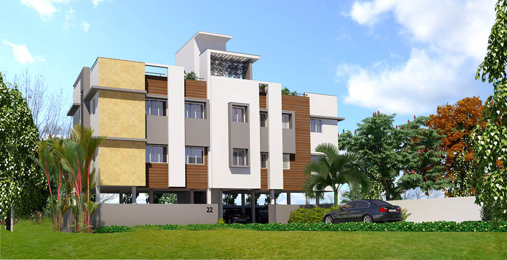671 Sq Ft 2 Bhk 2t Apartment For Sale In Ms Foundations