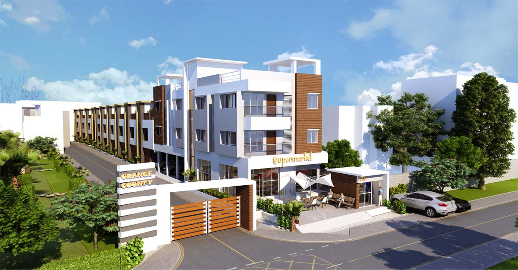 671 Sq Ft 2 Bhk 2t Apartment For Sale In Ms Foundations Orange County Apartments Madambakkam Chennai