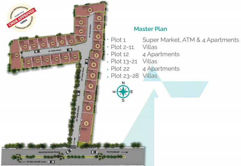 Images for Master Plan of MS Orange County Apartments