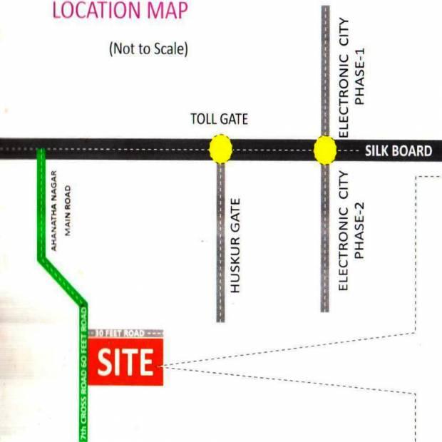 Images for Location Plan of  Brundavanam