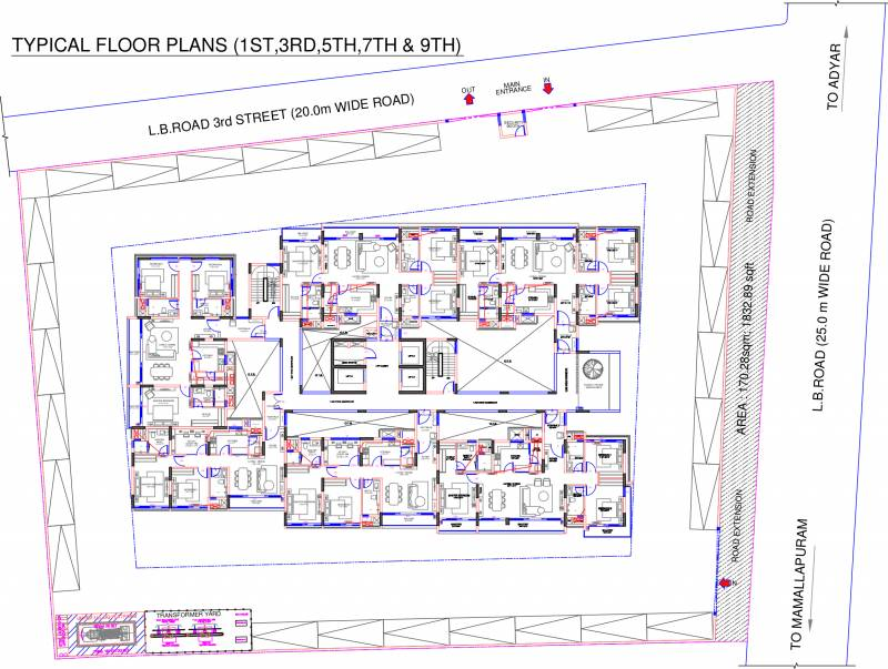 Images for Cluster Plan of Olympia Jayanthi Residences