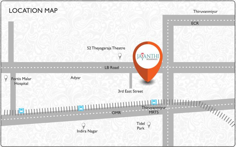 Images for Location Plan of Olympia Jayanthi Residences
