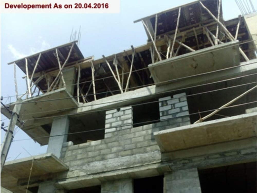 1047 sq ft 2 bhk 2t apartment for sale in blue valley for Sunshine construction