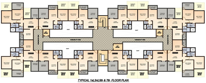 994 sq ft 2 bhk 2t apartment for sale in drashti devine