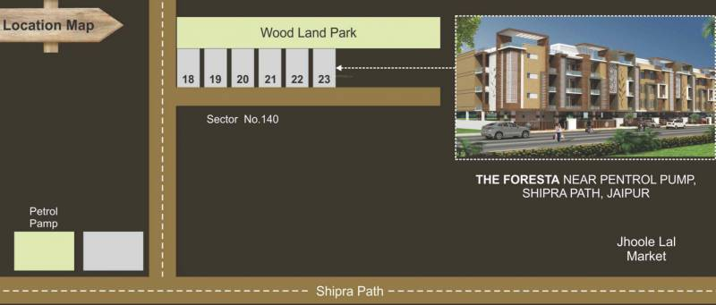 Images for Location Plan of Aashish The Foresta