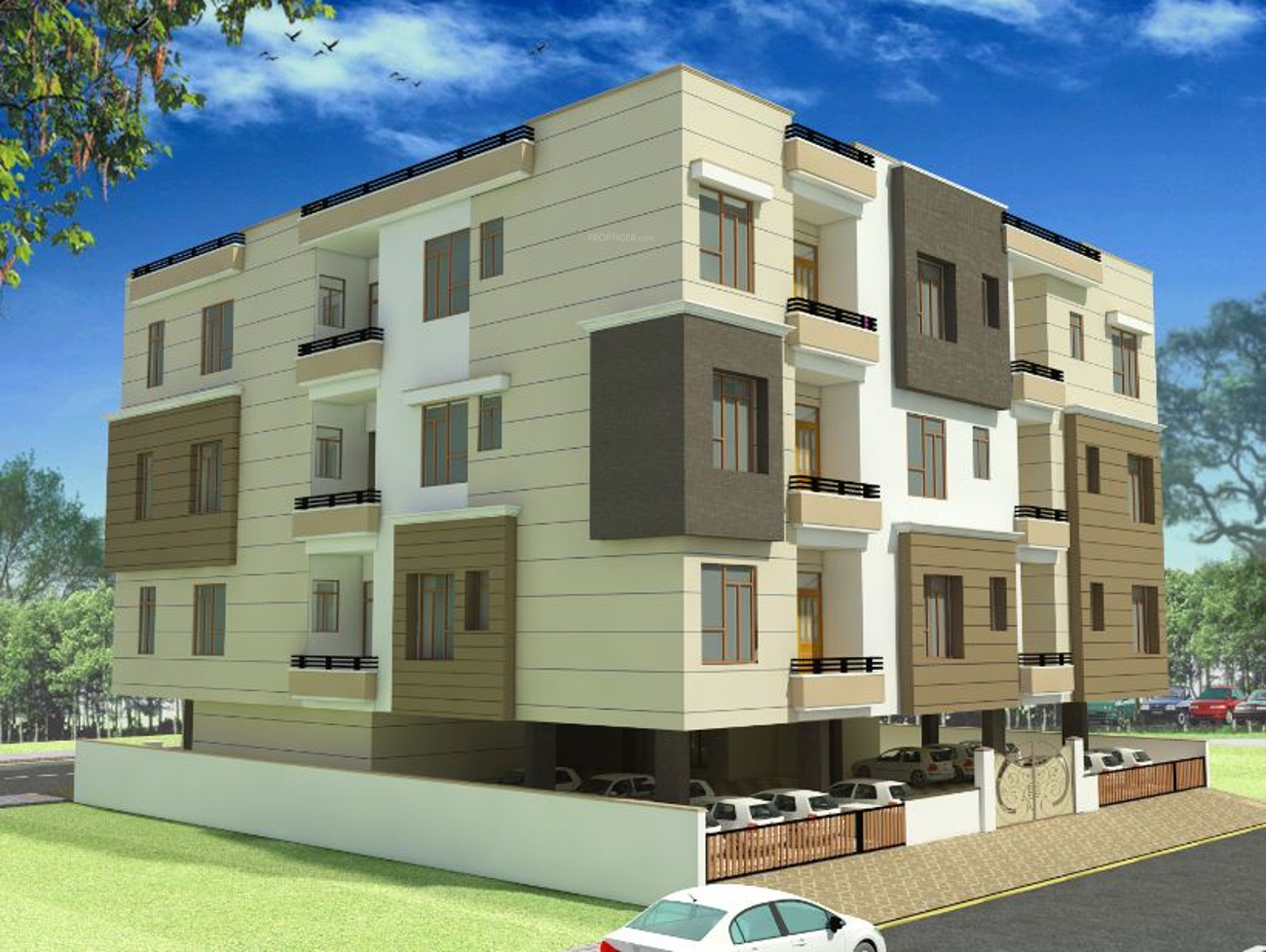 1065 sq ft 2 bhk 2t apartment for sale in ruheen for Eco home builders