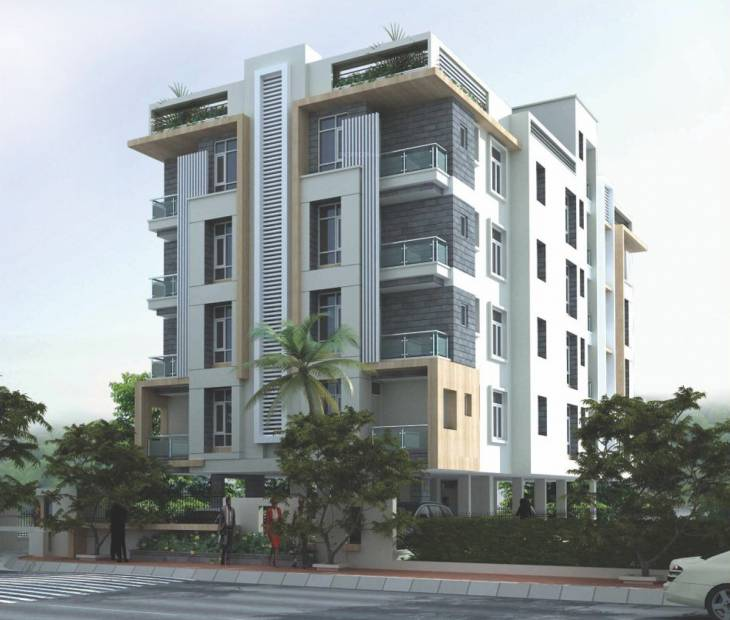 Images for Elevation of Living Aarudha