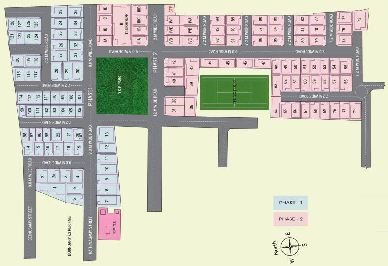 Images for Layout Plan of Poomalai The Wind