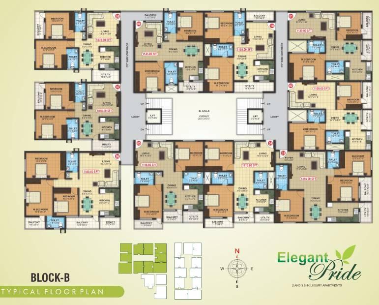 Images for Cluster Plan of Elegant Pride