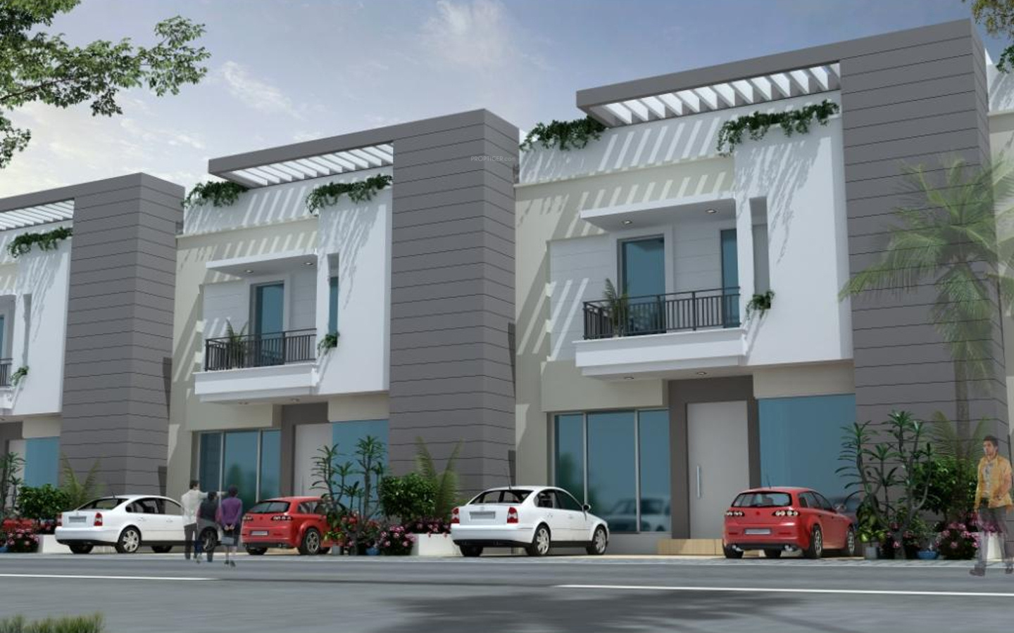 1838 sq ft 3 BHK 3T Villa for Sale in Ashadeep Group Kings