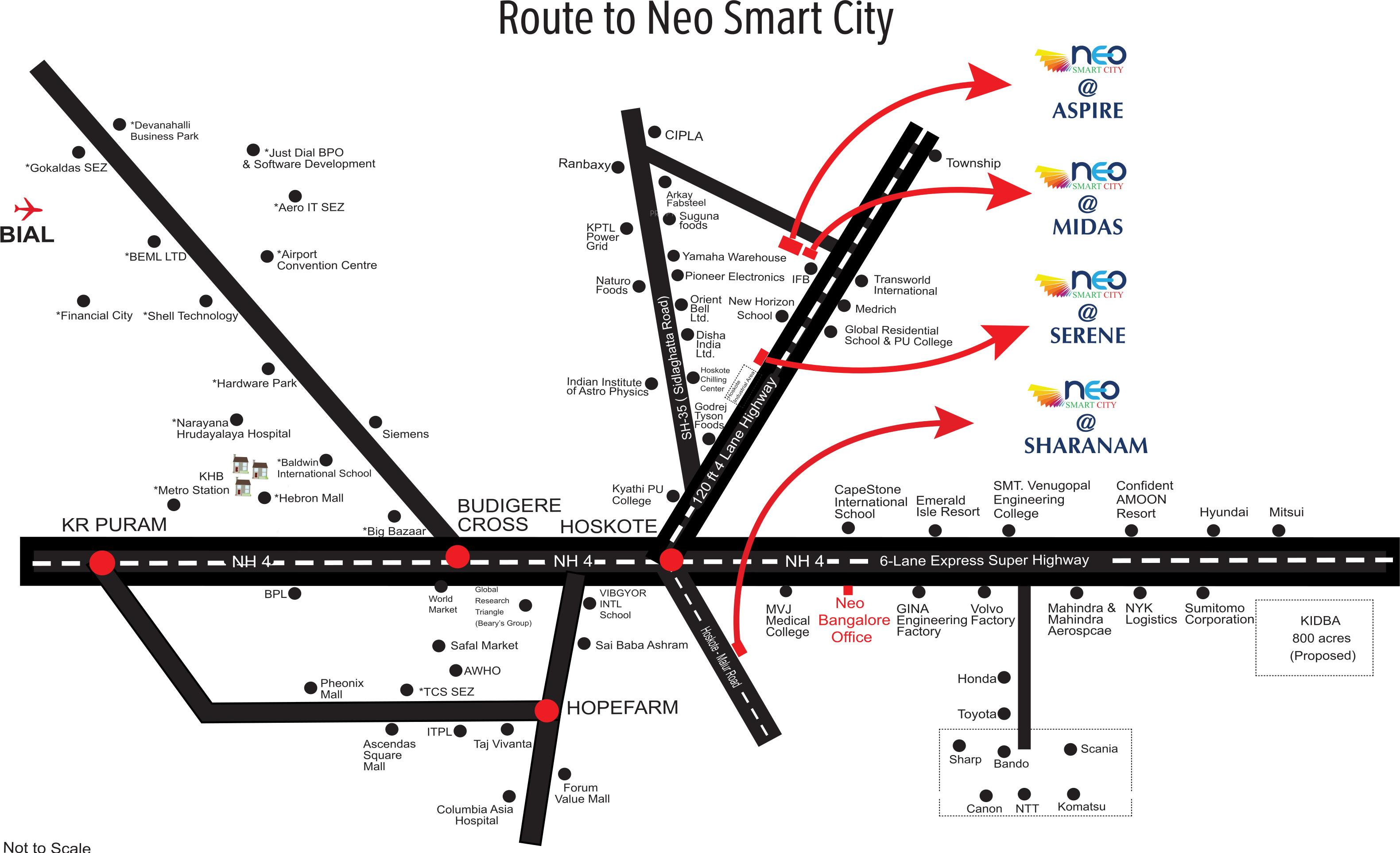 artha midas at neo smart city in hoskote  bangalore